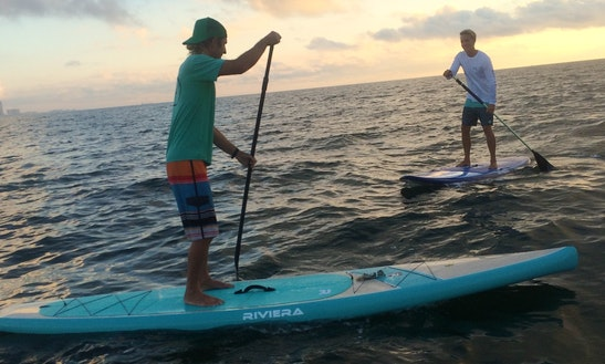 Paddleboard Rental & Lessons In Galveston, Texas