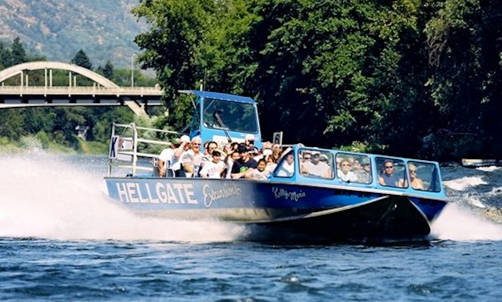 Hellgate Jet Boat Tours Grants Pass Oregon