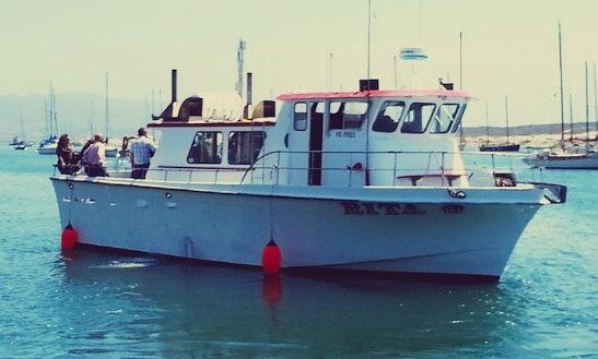 50' Fishing Trip Boat
