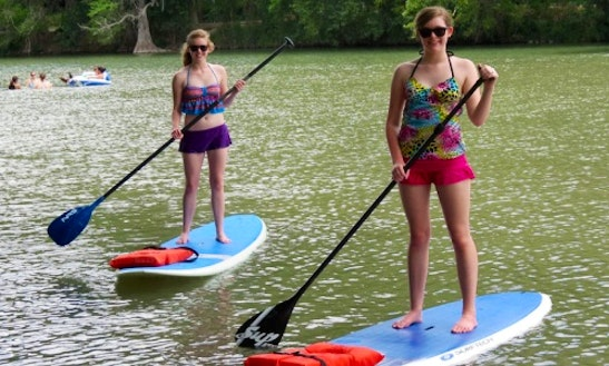 Paddleboard Rental & Lessons In New Braunfels, Texas
