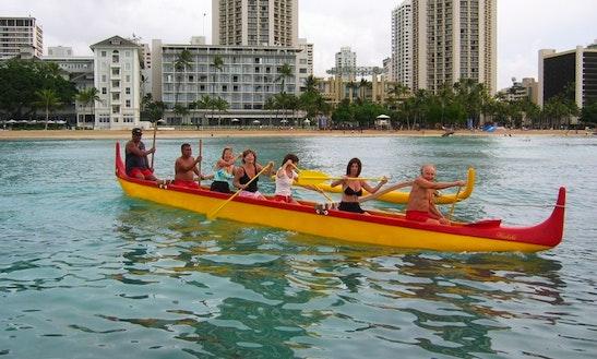 Canoe Rental & Trips In Honolulu, Hawaii