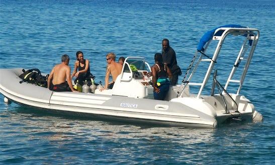 Rib Diving & Snorkeling Trips In Saint Luke Parish, Dominica