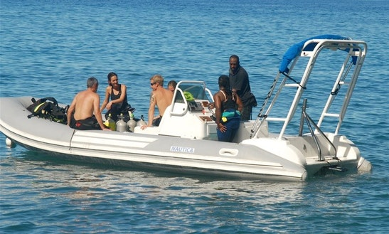 Rib Diving & Snorkeling Trips In Saint Luke Parish, Dominica