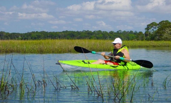 Single Kayak Rental & Trips In Jacksonville, Florida