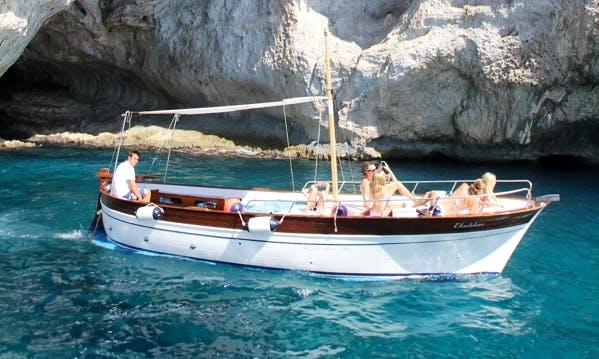 Rent a Boat with Skipper in Capri