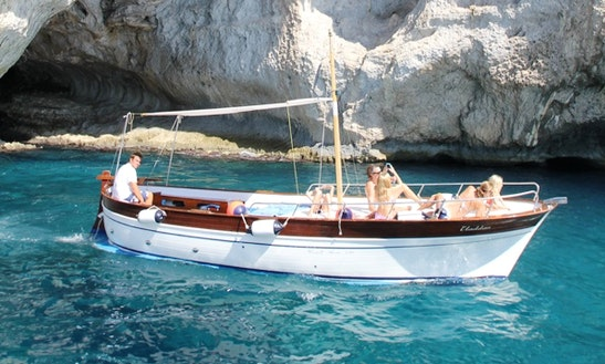 Rent A Boat With Skipper In Capri
