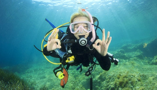 Fun Diving In Muğla, Turkey