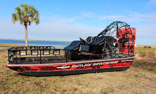 Airboat Bowfishing Trips In Port O'connor, Texas With Captain Craig
