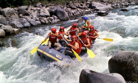 Daily Rafting Trips In Turkey