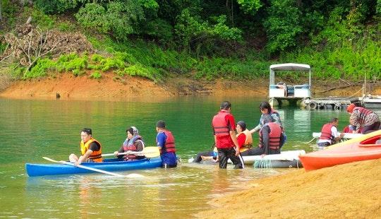 Adventurous Kayak Trip In Kuala Berang, Malaysia