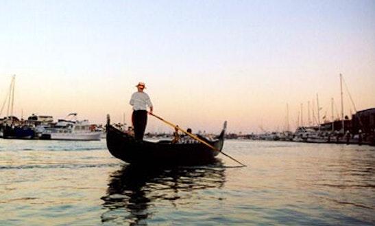 Gondola Trips In Newport Beach, California