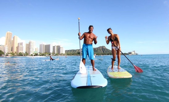 Paddleboard & Surf Rental & Lessons In Honolulu, Hawaii