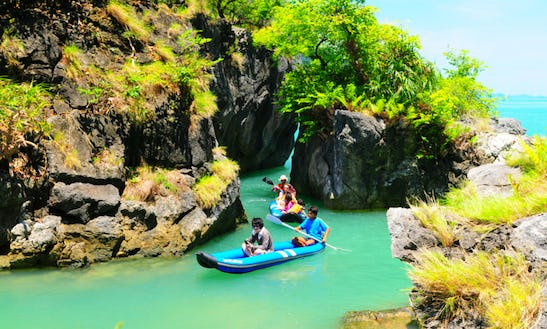 Phang Nga Bay: Full-day Kayaking Tour By Boat From Phuket