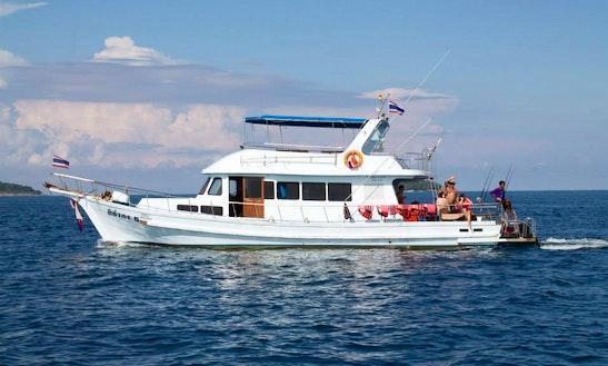 Fishing Charter On Head Boat In Phuket, Thailand