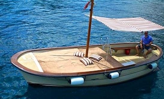 24' Dinghy Rental & Trips In Capri, Italy