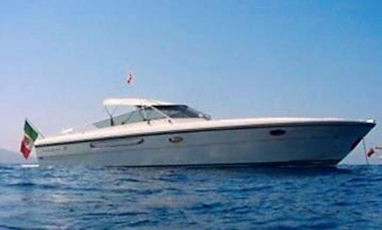 Itama 38 Motor Yacht Tours In Capri, Italy