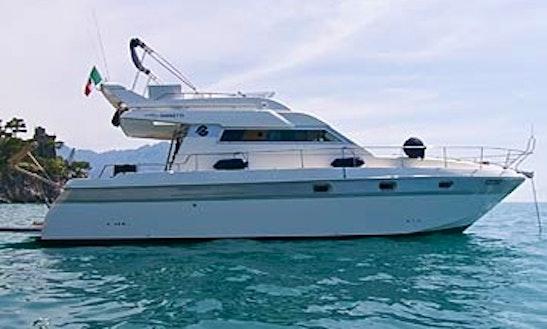 Gianetti 38 Fly Motor Yacht Charters In Capri, Italy