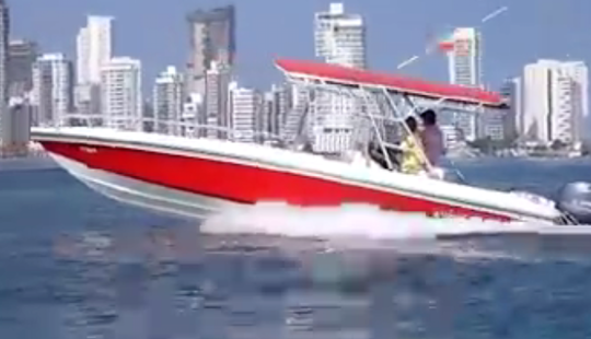 28ft Rumbalee Center Console Boat Cruising Charter In Cartagena, Colombia