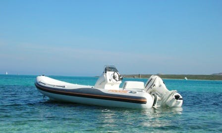 Self Drive 18 ft RIB for Rent in Stintino, Italy