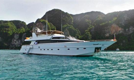 Baglietto 85 Power Mega Yacht Charter In Koh Keaw