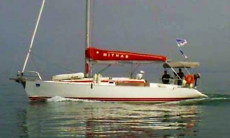 "Charter 42' Sailing Yacht ""Mithas"" in neos marmaras Halkidiki"