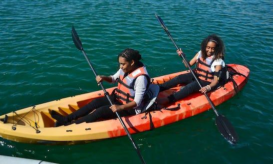 Double Kayak Rental In Abu Dhabi
