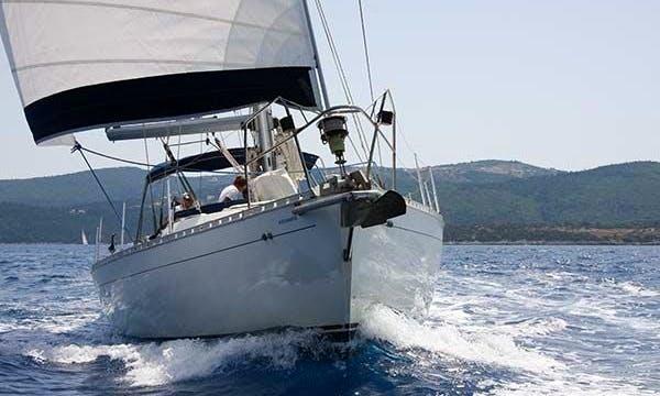 """Alexandros"" Sailing Yacht Charter in neos marmaras Halkidiki"