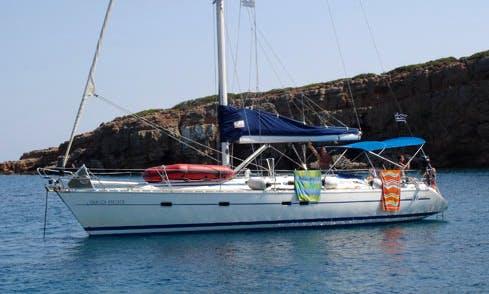 """Hakuna Matata"" Sailing Yacht Charter in neos marmaras Halkidiki"