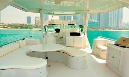 "Charter 62ft ""Blue Water"" Power Mega Yacht in Dubai"