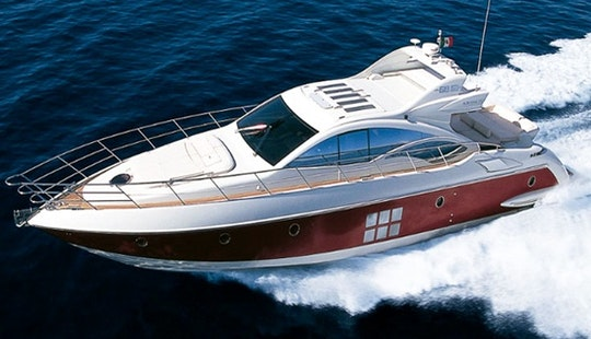 Charter The Azimut 68s Power Sports Yacht In Dubai, Uae