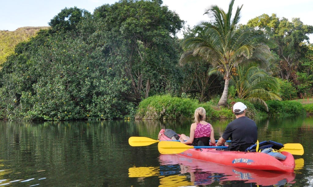 Tandem Kayak Rental & Trips in Kapaa, Hawaii