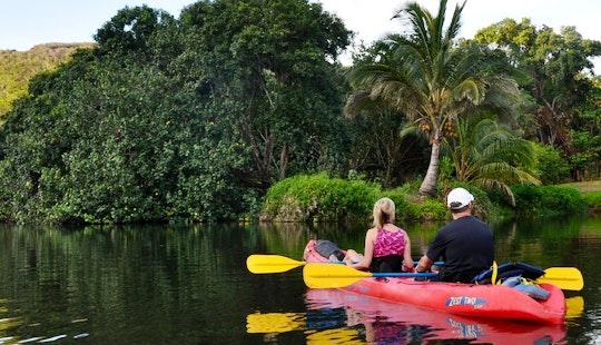 Tandem Kayak Rental & Trips In Kapaa, Hawaii