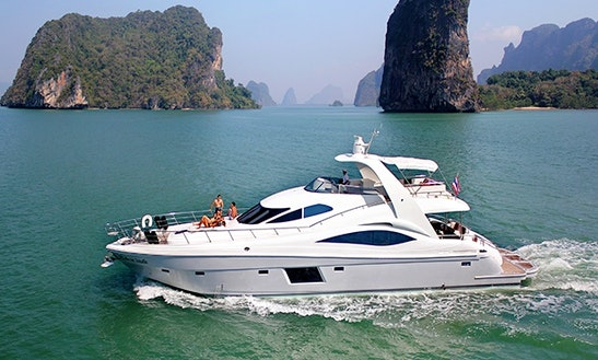 Tachou 76 Power Mega Yacht Charter In Tambon Mai Khao