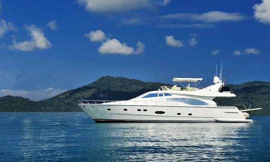 Ferretti 680 Power Mega Yacht Charter In Tambon Mai Khao