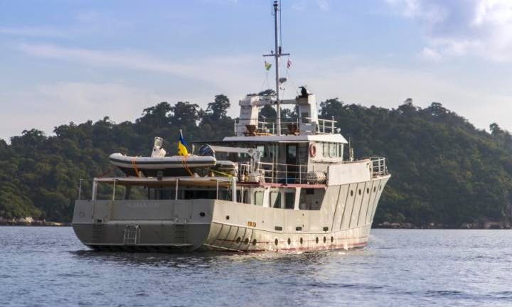 Kama Bay Power Mega Yacht Charter in Tambon Mai Khao