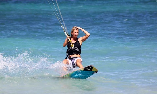 Kiteboarding In Saint James Parish, Jamaica