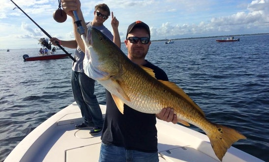 Enjoy Fishing In Pensacola, Florida On Center Console