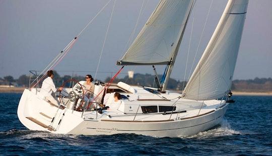 Jeanneau Sun Odyssey 33i Cruising Monohull Charter In Poros Island