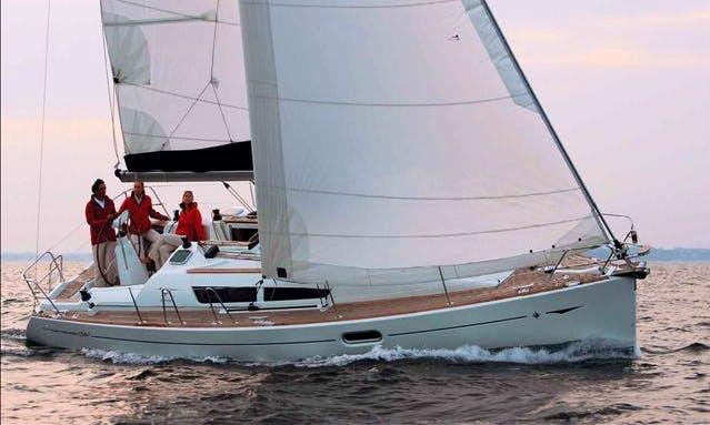 Jeanneau Sun Odyssey 36i Cruising Monohull Charter in Poros Island