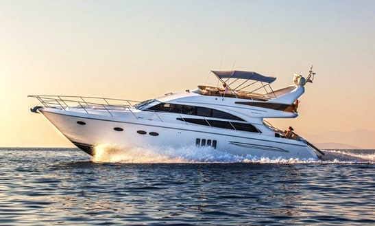 Princess 62 Fly Mega Power Yacht Charter In Split