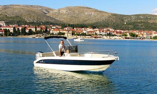Mingolla Brava 22 Boat In Trogir