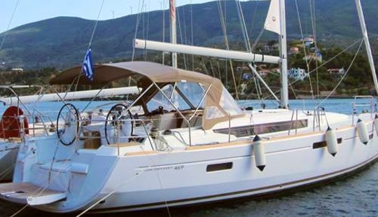 Jeanneau Sun Odyssey 469 Cruising Monohull Charter In Poros