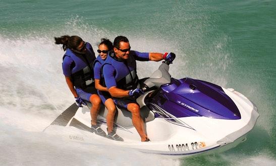 'yamaha Vx 110 Deluxe' Jet Ski Rental  In Trogir
