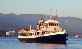 "140' ""The Abitibi"" Cruising Charter in Vancouver, Canada"