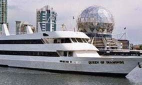 "128' ""The Queen of Diamonds"" Cruising Charter in Vancouver, Canada"