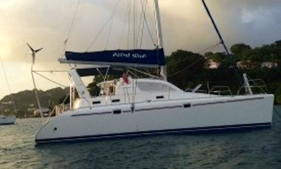 Leopard 38 Cruising Catamaran Charter In St Vincent