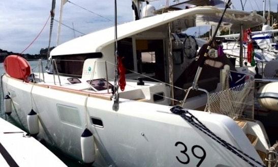 Lagoon 39 Cruising Catamaran Charter In St Vincent