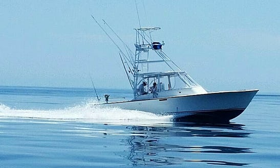 34' Sport Fisherman Charter In Cape Canaveral, Florida