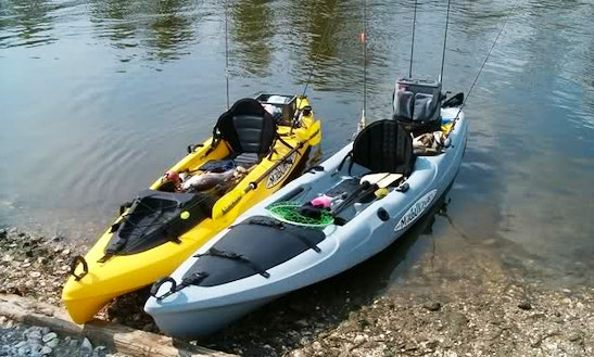 Fishing Kayak Rental, Tours & Lessons In Hood River
