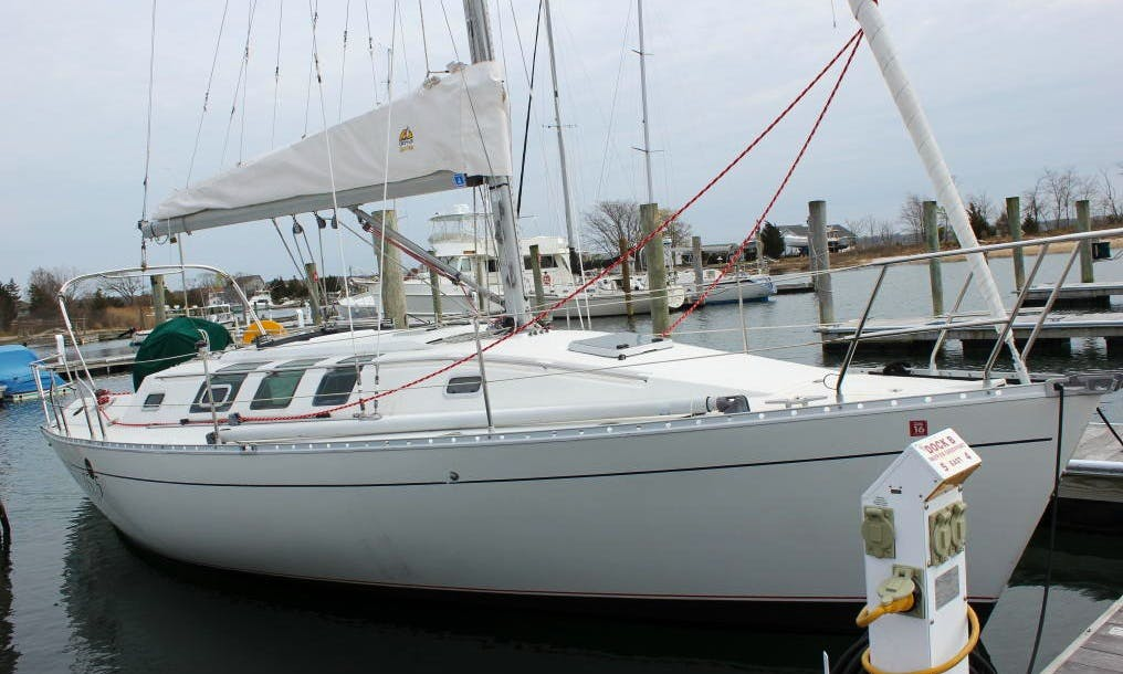 Captained Charter the 35' Beneteau Sailboat in Annapolis, Maryland, USA